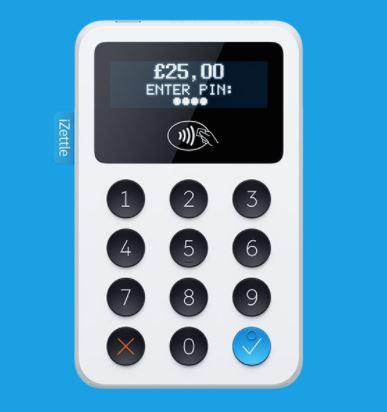 iZettle Reader for £19 + VAT (£22.80 - Normally £59+VAT ) / iZettle Reader and Dock £39 + VAT (£46.80) @ iZettle