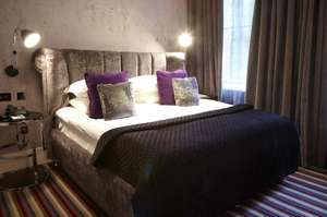 Bed+Bubbles+Breakfast  - Hotel stay with continental breakfast + Glass of prosecco each from £39.50pp  [£79] @ Malmaison