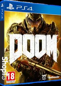 DOOM £9.85 In Stock on both console platforms; PS4/Xbox One @ ShopTo , Delivered next day