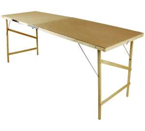 Hardboard Decorating / Pasting Table £9.99 @ Argos - Free C&C (also 20% off Stanley Toolbag when bought together)