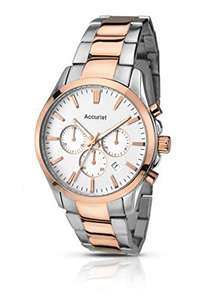 Accurist Men's Quartz Watch with Chronograph Display and Stainless Steel Bracelet - £25.49 @ Amazon