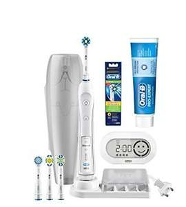 Oral-B Pro 6000 Smart Series Electric Toothbrush with Bluetooth Connectivity, Cross-Action Refills and ProExpert Toothpaste £48.46 @ Amazon
