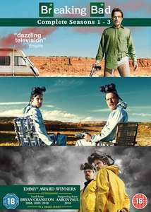 Used breaking bad season 1-3 dvd - £1.95 @ Music Magpie