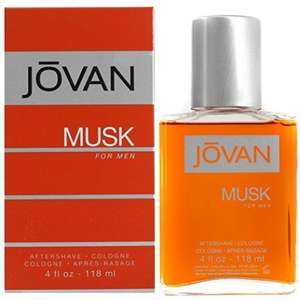 Jovan Musk Aftershave for Men (118ml) - £4.45 (Prime) @ Amazon