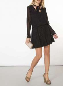 Dorothy Perkins Sparkly Black Dress - was £35 now £7