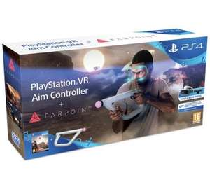 PS4 VR Aim Controller with Farpoint PS4 VR Game £74.99 @ Argos