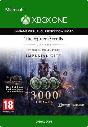 Elder Scrolls Online, 3000 Crowns. £13.49 @ Tesco!