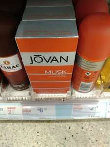 Jovan musk for men Pour Homme 118ml £6.12 Boots instore