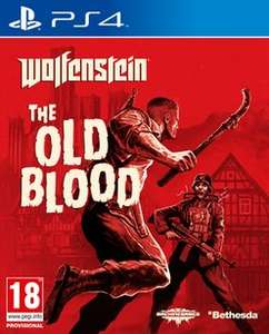Wolfenstein: The Old Blood (PS4 £6.99 XBOX 1 £9.99) at Game Cheapest for New