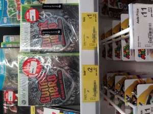 Guitar Hero Warriors Of Rock £1 Asda instore