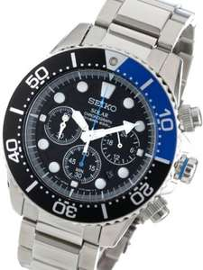 Seiko Solar Chronograph Diver's Watch SSC017 - £125.10 at H Samuel
