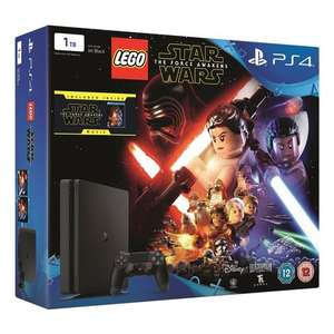 PS4 1TB LEGO Star Wars: The Force Awakens Console Bundle - £150 - Smyths (Limited Stock/Selected Stores)