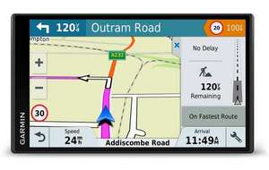 Garmin DriveSmart 61LMT-D with Full Europe Maps £199 Halfords