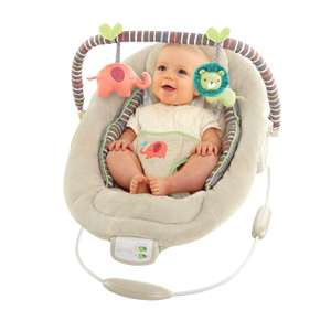 Bright Starts Cozy Kingdom comfort and harmony baby bouncer was £45 now £33.75 with free next day click and collect @ Tesco Direct