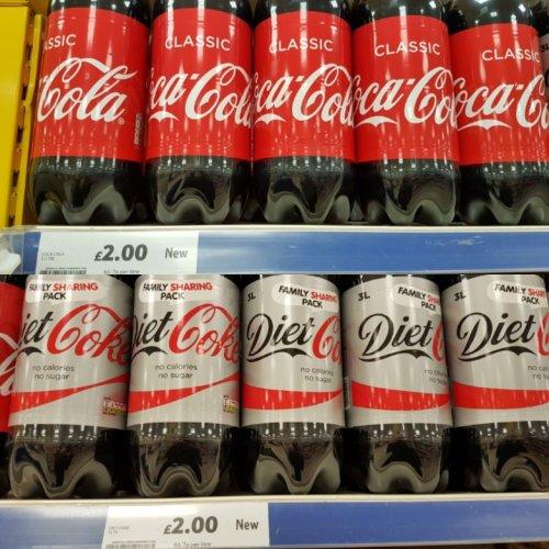 Coke 3L at Tesco for £2