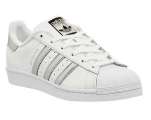ADIDAS SUPERSTAR size 4 SILVER DETAILS - £50 @ Office