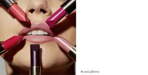 Free Lip Effects Service at Estee Lauder counters (voucher print)