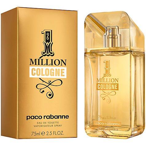 Paco Rabanne 1 Million Cologne Eau de Toilette - £19.99 / £21.99 C+C / £23.49 delivered @ John Lewis
