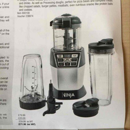 nutri ninja chef nn100 - £71.98 instore @ Costco