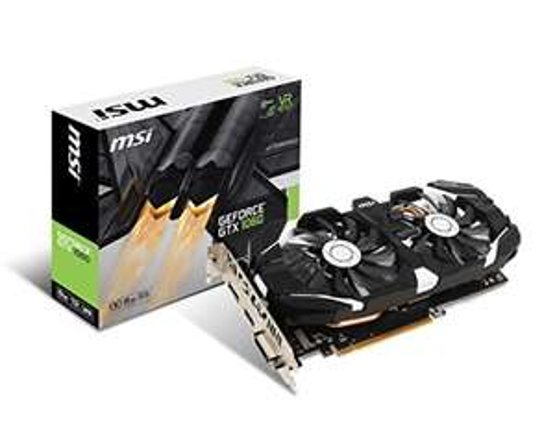 MSI NVIDIA Geforce GTX 1060 6GB 0CV1 GDDR5 PCI Express DP/DVI/HDMI Graphics Card - Black - In stock July 1st - £225.48 @ Amazon