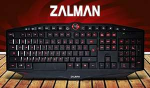 Zalman ZM-K400G USB Gaming Keyboard £6.22 prime (£10.97 non Prime) @ Amazon