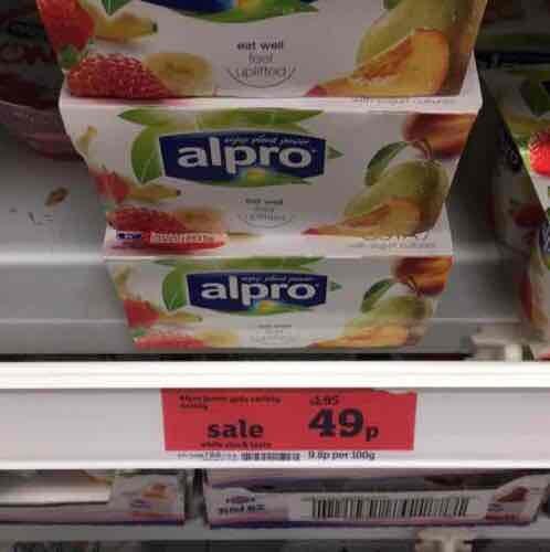Alpro No Bits  49p @ sainsbury's - Lace market Nottingham
