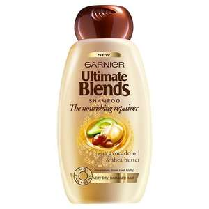 Garnier Ultimate Blends Avocado Damaged Hair Shampoo 250ml Pack of 6 £4.13  Amazon S&S