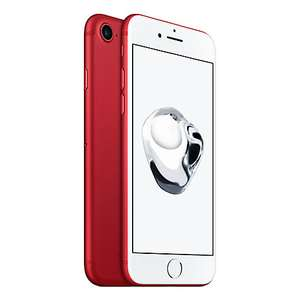 £70 off ALL (PRODUCT) RED Apple iPhone 7 / iPhone 7 Plus Unlocked + 2 Year JL Guarantee (e.g. iPhone 7 128GB £629) @ John Lewis