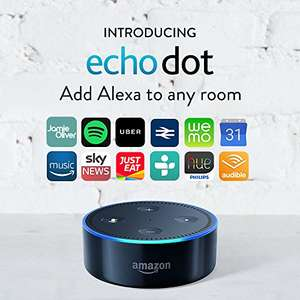 Certified Refurbished Amazon Echo Dot (2nd Generation) Black £39.99 @ Amazon
