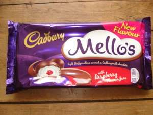 Cadbury Mello's With Raspberry Flavour Jam 120g, 2 For £1 In Store @ Poundland