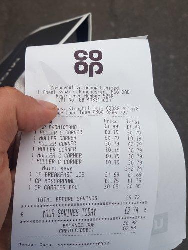 Muller corner at co-op - 6 pots for £2
