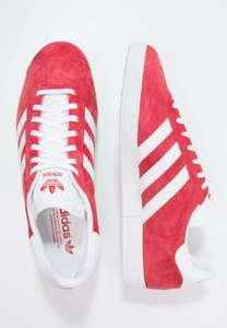 ADIDAS GAZELLES - RED  all sizes - £35.99 delivered @ ZALANDO