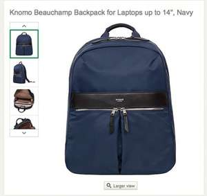 Knomo women's backpack on SALE at John Lewis - £74.50