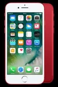 iphone 7 product red 128gb 30gb data £39 p/m 24 months Total £906 @ Affordable mobiles and £30 cashback quidco