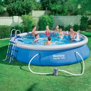 Best way 15ft pop up pool - £39.99 instore @ Trago Mills (Newton Abbot)