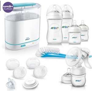 Philips AVENT Essential Natural Starter Set for £59.99 @ Toys R Us