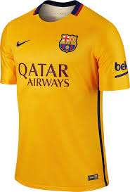 Nike Adult Barcelona FC 2015 away shirt - £6 @ Nike  outlet in store only