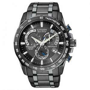 Citizen Men's Eco-Drive Chronograph Watch, Black + 5 year guarantee @ Amazon for £234.50