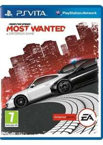 Need for Speed: Most Wanted (PlayStation Vita) £7.49/ Dead Rising 4 [XO] £15.85 @ Base