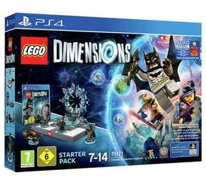 Lego Dimensions Starter Pack (PS4) - with Supergirl exclusive! £32.99 at Argos