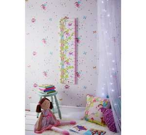 Arthouse Fairies Height Chart Printed Canvas £7.49 @ Argos in Saltfold or their online store