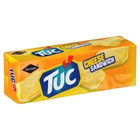 Tuc Cheese Sandwich (150g) Was £1 Now 50p @ ASDA