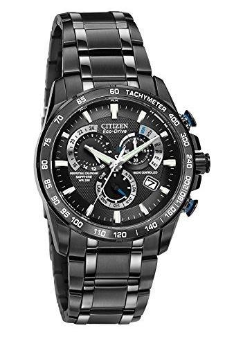 Citizen Men's Eco-Drive Chronograph Watch AT4007-54E - Black £234.50 @ Amazon