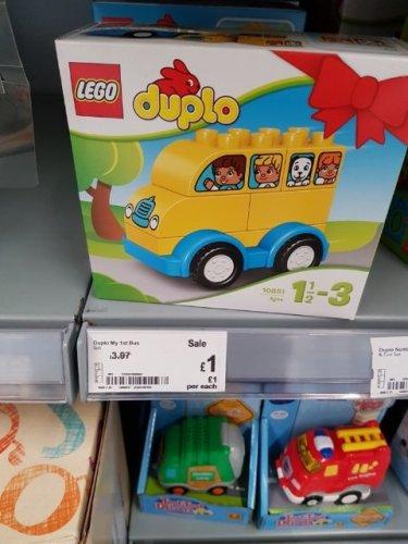 Lego duplo bus. asda burton on trent - £1 instore