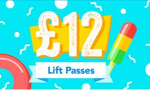 Chill factore summer sale - 1 hour lift pass £12 or add an extra hour for £5