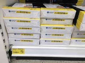 HP A4 Paper, 500 sheets. Reduced from £4 to 40p in ASDA - Elgin