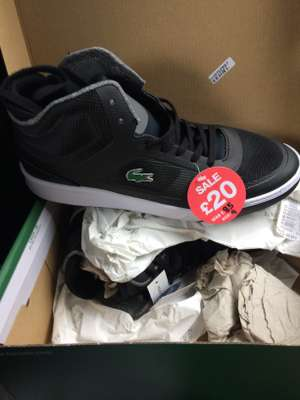 Lacoste Men's Trainers instore @ JD Sports £20 from £85