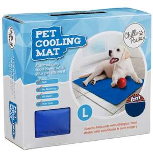 pet cooling mat £8.99 @ B&M