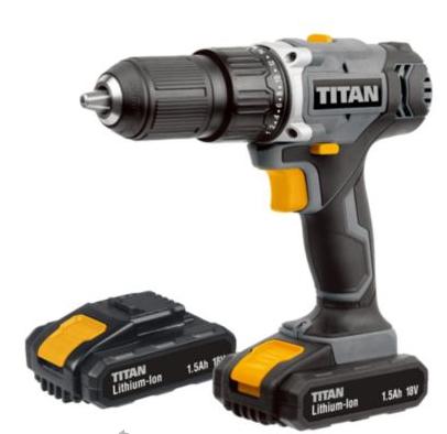 Titan Combi drill £26 was £53 @ B&Q