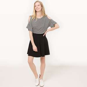 Upto 50% off womens, mens, kids and home plus extra 10% on top & free c&c eg ruffled cold shoulder t shirt was £13.80 now £7.02 with code @ La Redoute